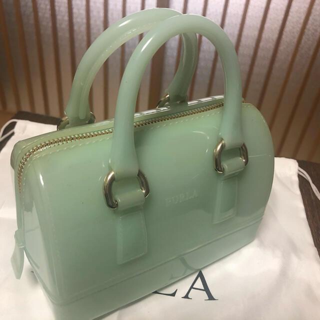 Furla(フルラ)の【最終価格】FURLA CANDY BAG キャンディバッグ ミントグリーン レディースのバッグ(ショルダーバッグ)の商品写真
