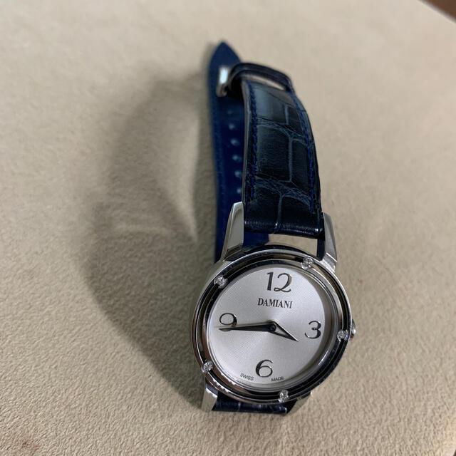 Damiani(ダミアーニ)のダミアーニ レディース 腕時計 美品 レディースのファッション小物(腕時計)の商品写真