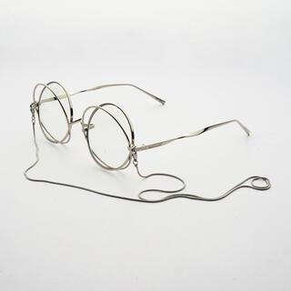 アンブッシュ(AMBUSH)の定価¥45,000円❗️ 【Percy Lau】チェーン付き ラウンドフレーム(サングラス/メガネ)