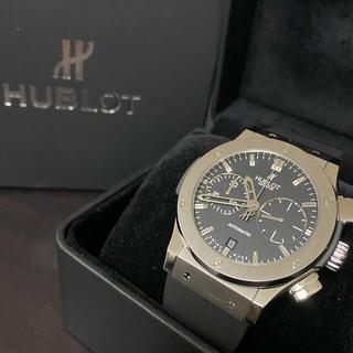 ウブロ(HUBLOT)の専用 HUBLOT クラシックフュージョン クロノグラフチタニウム(腕時計(アナログ))