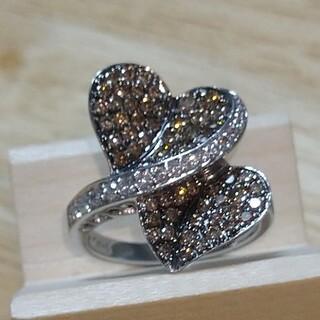 ジュエリーマキ - K18WG  SAMISTAR-D バブルなダイヤリング