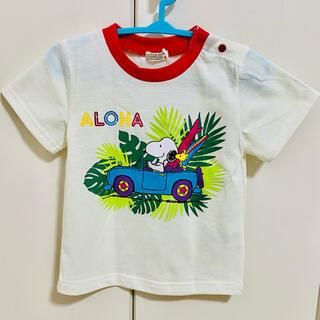 スヌーピー(SNOOPY)の【500円均一‼️】SNOOPY Tシャツ 80cm(Tシャツ)