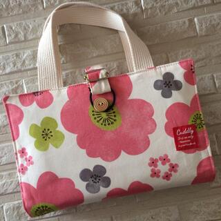 レビューブックカバー*ピンクの花柄(ブックカバー)