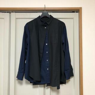サカイ(sacai)のsacai ドッキングシャツ サイズ1(シャツ/ブラウス(長袖/七分))