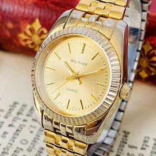 ウォルサム(Waltham)の【高級時計ウォルサム】Waltham クォーツ 腕時計 レディース ビンテージ(腕時計)
