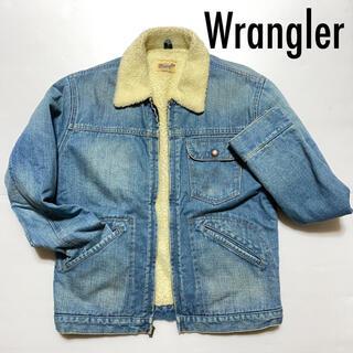 Wrangler - ❤️送料込❤️Wrangler デニムボアジャケット Gジャン ラングラー