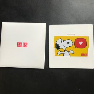 ユニクロ(UNIQLO)のUNIQLO ギフトカード(ショッピング)