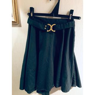 チュー(CHU XXX)のchuxxx 深緑 ベルト付きスカート(ひざ丈スカート)