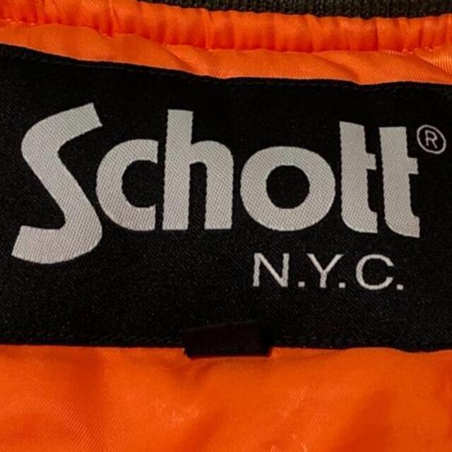 schott(ショット)のショット ブルゾン サイズS メンズ カーキ メンズのジャケット/アウター(ブルゾン)の商品写真