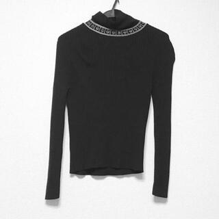 ジャンポールゴルチエ(Jean-Paul GAULTIER)のゴルチエ 長袖セーター サイズ40 M 黒×白(ニット/セーター)