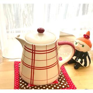 AfternoonTea - チェック柄が可愛いティーポット&リトルミィ鍋敷き