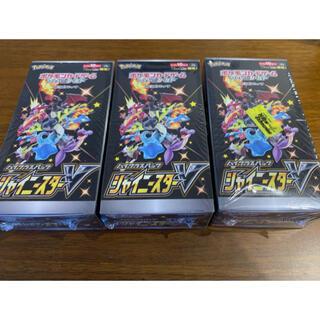 ポケモン(ポケモン)の【3BOX】ポケモンカードゲーム ソード&シールド シャイニースターV(Box/デッキ/パック)