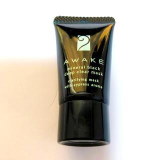 アウェイク(AWAKE)のAWAKE アウェイク ミネラルブラックディープクリアマスク 10g(パック/フェイスマスク)
