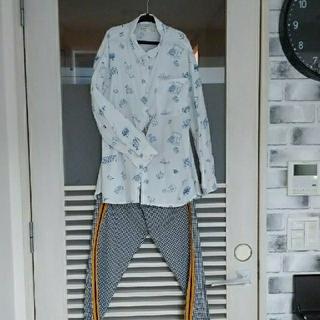 ザラキッズ(ZARA KIDS)のザラキッズ ZARAkids ブラウス パンツ セット 134センチ 男女(ブラウス)
