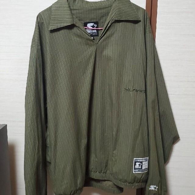 XLARGE(エクストララージ)のXLARGE×スターターブラックレーベル  セットアップ上 メンズのジャケット/アウター(ナイロンジャケット)の商品写真