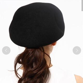 CA4LA - ca4la holiday 黒ベレー帽 カシラ