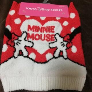ディズニー(Disney)のニット腹巻き(ミニーマウス)(アンダーシャツ/防寒インナー)