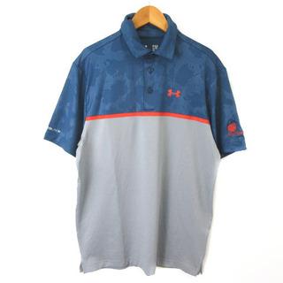 UNDER ARMOUR - アンダーアーマー KO Olina ゴルフウエア ポロシャツ 半袖 刺繍