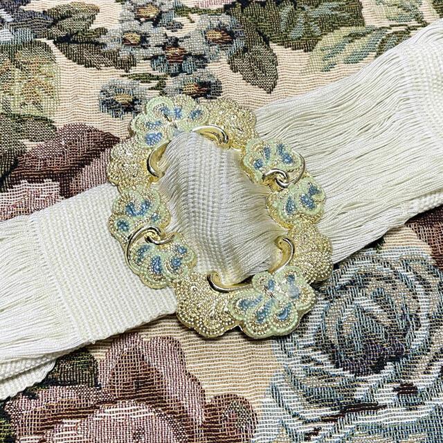 貴和製作所(キワセイサクジョ)のヴィンテージ バックル ゴールド アラベスク ハンドメイドの素材/材料(各種パーツ)の商品写真