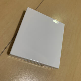 ムジルシリョウヒン(MUJI (無印良品))の無印良品 アイカラー チークカラー 角型 ケース パレット 白(その他)