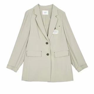 アメリヴィンテージ(Ameri VINTAGE)のameri back side jacket (ノーカラージャケット)