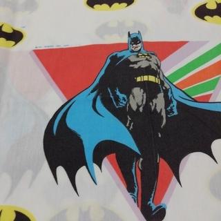 マーベル(MARVEL)のUSA製 バットマン USED ビンテージシーツ DCコミック (生地/糸)