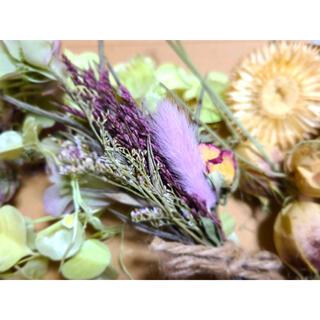 花材詰め合わせハーバリウム ドライフラワー(ドライフラワー)