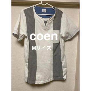 コーエン(coen)のcoen トップス(Tシャツ/カットソー(半袖/袖なし))