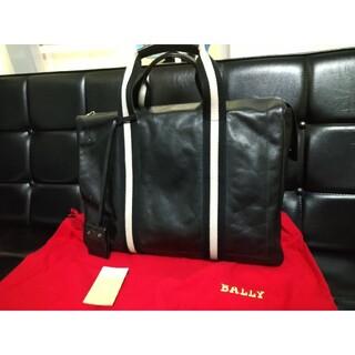 バリー(Bally)のバリー正規品ビジネスバッグブラックtapras(ビジネスバッグ)