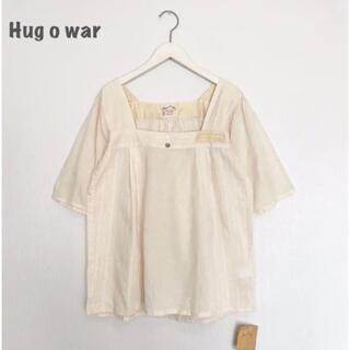 ハグオーワー(Hug O War)の【Hug  o  war】ブラウス ハグオーワー(シャツ/ブラウス(半袖/袖なし))