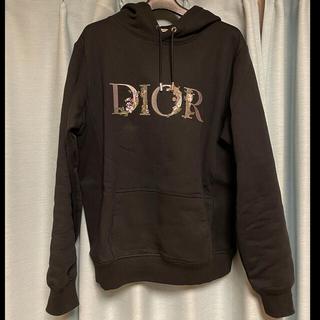 ディオール(Dior)のDIOR 2021ss パーカー フラワー 新作 中古(パーカー)