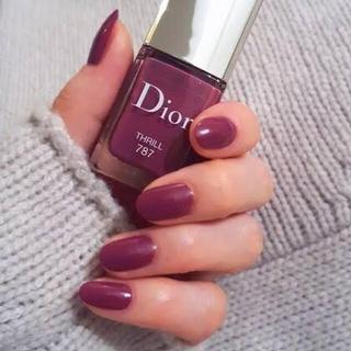 ディオール(Dior)の【お値下げ】ディオールヴェルニ💅THRILL787(ネイル用品)