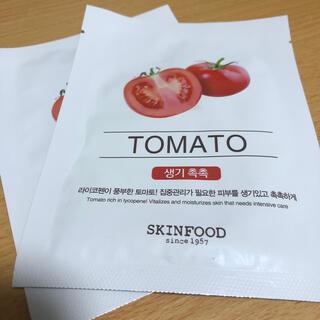 スキンフード(SKIN FOOD)のスキンフード トマトパック2枚セット(パック/フェイスマスク)
