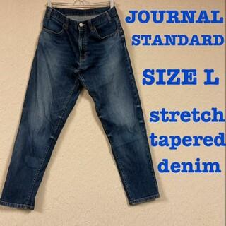 ジャーナルスタンダード(JOURNAL STANDARD)のjournal standard stretch tapered denim L(デニム/ジーンズ)