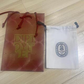 ディプティック(diptyque)のディプティック  限定ショッパー1枚+布袋1枚(ショップ袋)