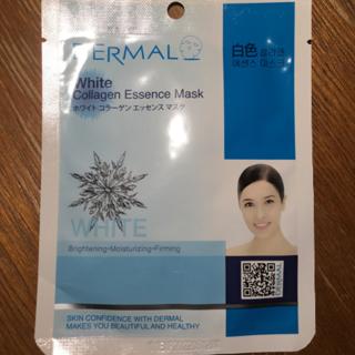 DERMAL ホワイトコラーゲンエッセンスマスク(パック/フェイスマスク)