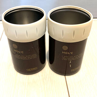 THERMOS - サーモス 2個セット 保冷缶クーラー 保冷缶ホルダー ヴィンテージ