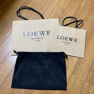 ロエベ(LOEWE)のLOEWE ペーパーバッグ&布袋 新品♡(ショップ袋)