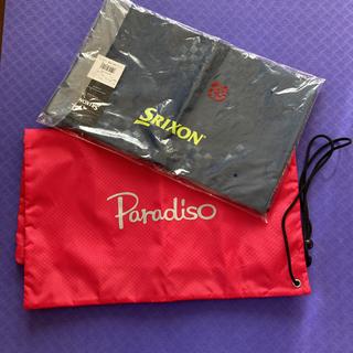 スリクソン(Srixon)のSRIXON Paradiso ランドリーバッグ ネイビー ピンク テニス(バッグ)