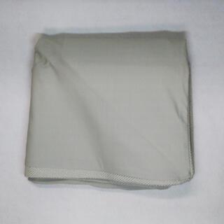 ムジルシリョウヒン(MUJI (無印良品))の未使用 体にフィットするソファミニ カバー アクリル混平織ライトグレー(ソファカバー)