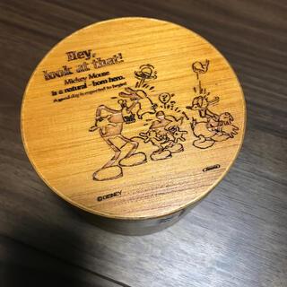 ミッキーマウス(ミッキーマウス)の曲げわっぱ丸型2段弁当箱 ミッキー(弁当用品)