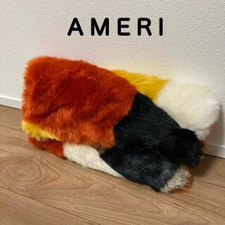 アメリヴィンテージ(Ameri VINTAGE)のAMERI ファー クラッチバッグ(クラッチバッグ)