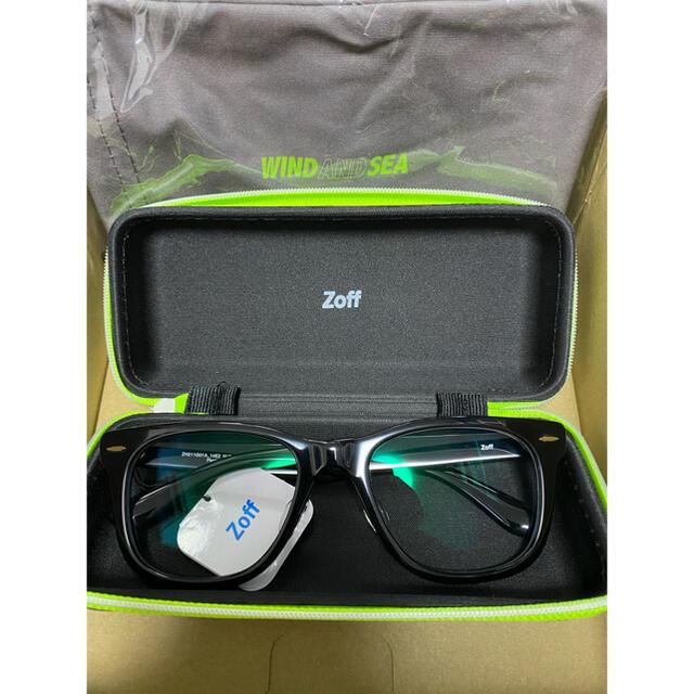 Zoff(ゾフ)のZoff×WIND AND SEA ウエリントン型 サングラス(調光レンズ) メンズのファッション小物(サングラス/メガネ)の商品写真