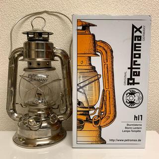 ペトロマックス(Petromax)の希少品!ペトロマックスhl1ストームランタン(ライト/ランタン)