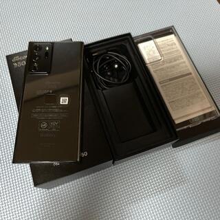 Galaxy Note 20 Ultra 5G SC-53A simフリー(スマートフォン本体)