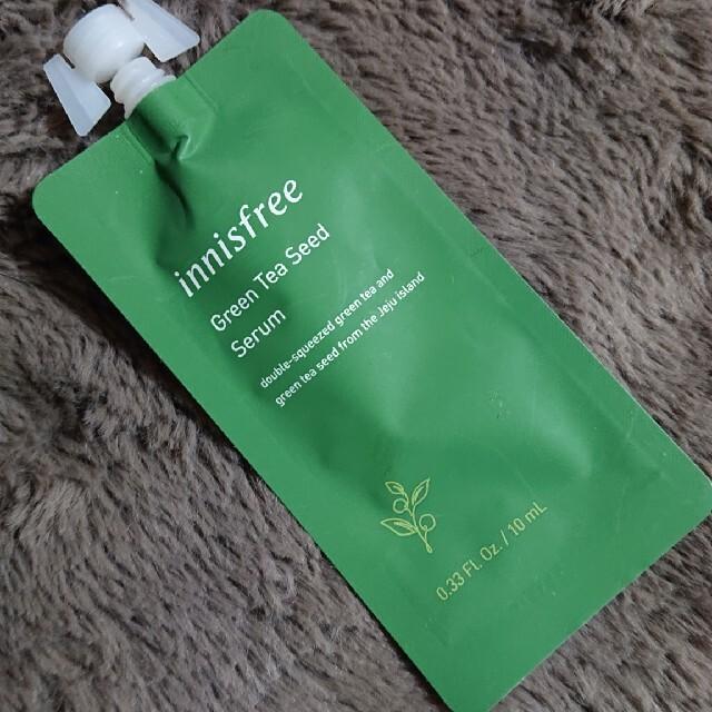Innisfree(イニスフリー)のグリーンティーシードセラム 10ml コスメ/美容のスキンケア/基礎化粧品(ブースター/導入液)の商品写真