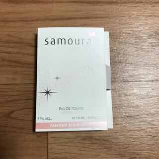 サムライ(SAMOURAI)のサムライウーマン 01  オーデトワレ 1.6ml(香水(女性用))