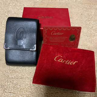 カルティエ(Cartier)のカルティエ シガレットケース タバコ(タバコグッズ)