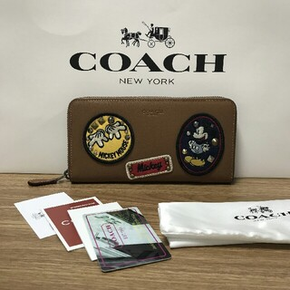 コーチ(COACH)のCOACH 長財布 【YKK】ラウンドファスナー 59340(ハンドベル)