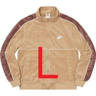 Supreme Nike Velour Track Jacket L Tan(ジャージ)